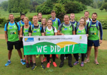 The Property Centre raise £3,000 with Cotswold Way Challenge