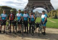 Speller Metcalfe London to Paris cycle